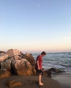 Sunset and son on the #tyrrheniansea #italy #rome #beauty #nature #beach #motherson #travel #traveling