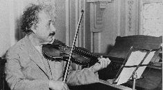 Music & Einstein As we marvel at science's latest extraordinary breakthrough, it's also an opportunity to ponder what kind of thinker Albert Einstein was.Born two decades before the beginning of the 20th century, what kind of mind was his that could come up with ideas that would have to wait until the second decade o