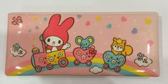 Vintage My Melody Pencil Case 1987 Sanrio made by TownOfMemories