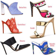 Spring 2014 Trends | Spring 2014 Shoe Trends - ShoeRazzi   THE MULE IS BACK