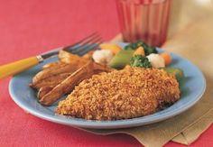 Crunchy No-Fry Chicken | RecipeLion.com