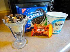 Reeses & Oreo parfaits? Sweet!
