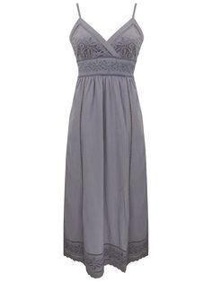 Lazy lu navy maxi dress