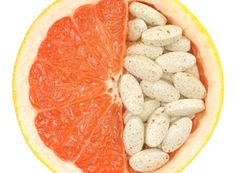 INFONESS - Grapefruit juice can raise the level of some medications in the blood. The effect of grapefruit was discovered after using juice to mask the taste of a medicine. So, be sure to take precautions from your doctor or pharmacist if it is safe to have grapefruit with your medications. Taking