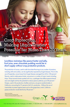 Crop protection and your lunchbox
