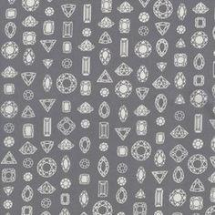 Rashida Coleman Hale - Moonlit Lawn - Gems Truly Outrageous in Grey