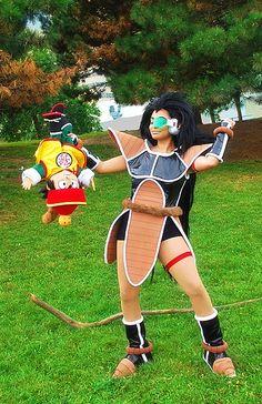 Anime: Dragon Ball. Character: Raditz. Cosplayer: Alex Warner 'aka' Glay. From: Waterloo, Ontario (Canada). Event: Otakon 2008. Photo: Quantum Destiny.