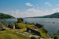 Озеро Лох-Несс, Инвернесс, Шотландия