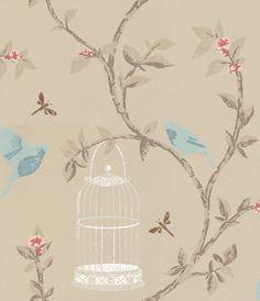 Birdcage Walk wallpaper by Nina Campbell