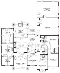 Rich Yet Rustic - 59977ND | Craftsman, Vacation, 1st Floor Master Suite, Bonus Room, CAD Available, Den-Office-Library-Study, Media-Game-Home Theater, PDF, Split Bedrooms, Corner Lot | Architectural Designs