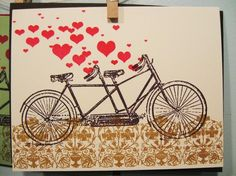 Tsuru And The Bride: Bicycle love...