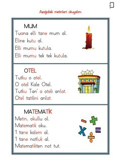 1. Sınıf Okuma Yazma Etkinlikleri 2. Grup Sesler T Sesi Okuma Etkinlikleri