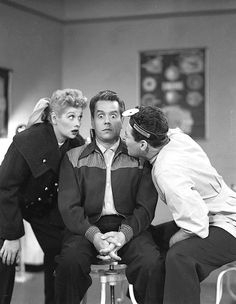 i love lucy and ricky Lucille Ball and Desi Arnaz I Love Lucy Episodes, Lucy And Ricky, Lucy Lucy, William Frawley, I Love Lucy Show, Vivian Vance, Queens Of Comedy, Lucille Ball Desi Arnaz, Old Hollywood