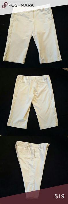 fc0cbaa00 Adidas Climalite Capris Woman s Size 10 Adidas women s Climalite Capris sz  10. Beige in color