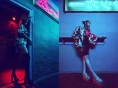 Neon | GLASSbook – Beauty and Fashion Editorial Magazine