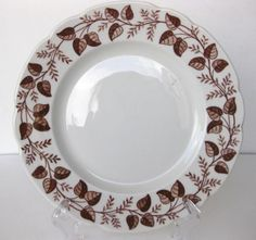 VTG-WALKER-CHINA-VITRIFIED-LUNCHEON-PLATE-BEDFORD-OHIO