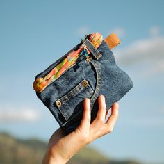 repurposed denim | Country Girl Keepsake Bag RePurposed Denim Jeans by ZiBagz