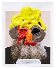 """Introducing the """"dirty, naive and honest"""" work of Sebastian Haslauer Smoke Cloud, Its Nice That, Printed Pages, Naive, Art Direction, Creepy, Graffiti, Mixed Media, Collage"""