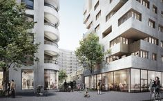 Städtebau, La Confluence, Lyon, Frankreich, Masterplan, Herzog & de Meuron, Tatiana Bilbao, Christian Kerez, Manuel Herz