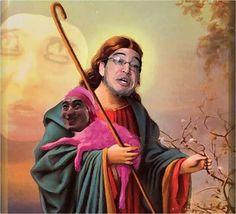 Papa Franku our Meme Lord & Savior of the Internet