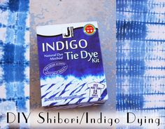 Jessamity: Project: DIY Shibori Indigo Dying