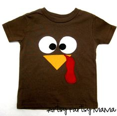 Thanksgiving Turkey Shirt with FREE Cut File