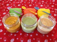 Aprende paso a paso cómo preparar tres papillas casera para tu bebé de pollo y verduras: brócoli, coliflor y zanahoria.