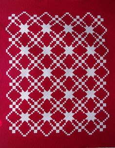 Red & White Quilt | Flickr - Photo Sharing!