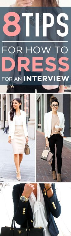8 tips for how to dress for an interview