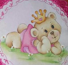 Tatty Teddy, Teddy Bear, Alice, Baby Embroidery, Baby Shower, Cute, Painting, Fabric Crafts, Kids Coloring