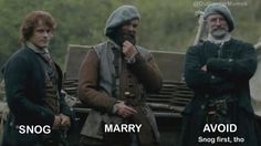 This is so right!! I would for sure marry Murtagh!