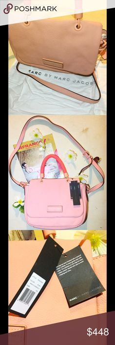 Marc by Marc Jacobs Leather pink bag Marc by Marc by Marc Jacobs is a  beautiful adddc61a1c308