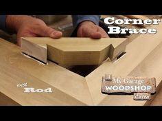 Making a Corner Brace - YouTube More