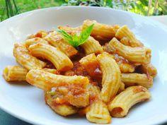 Maccheroni al pomodoro con Pasta Maker