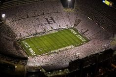 Can't wait to be sitting in that stadium this fall. Finally accepted to Penn State Main! WE ARE PSU
