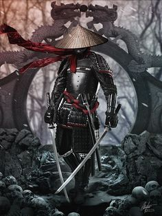 Humain ♂ - Maître d'armes  Ronin Black by Alegion.deviantart.com on @DeviantArt