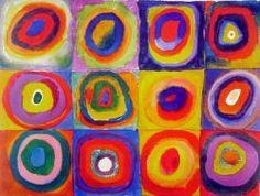 Kandinsky Inspired Circles