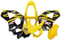 Carenado de ABS de Honda CBR900RR 954 2002-2003 - Amarillo/Negro