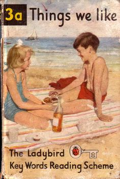 Ladybird books...learning to read with Peter and Jane books...lovely memories!