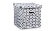 Mit dieser hochwertigen Aufbewahrungsbox aus robuster Pappe können Sie spielerisch Ordnung in Ihren Haushalt bringen.