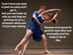 💙☺💙 Dance Academy Quotes, Push Me Away, Feeling Sad, Go Outside, Tvs, That Way, Breakup, Movie Tv, Tv Series