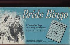 Perfect vintage bridal shower game