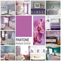 Just love  the colour of 2014. Learn how to incorporate this palette in your baby's room to create a stunning nursery that your friends will be jealous off.  #Homedecor #baby #home