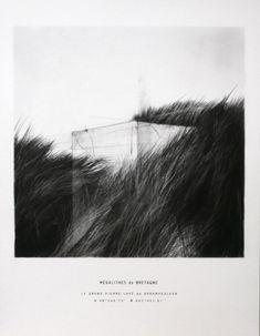 Marcelo Moscheta - charcoal and silkscreen on paper