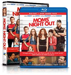 Moms' Night Out Movie Blu-ray+DVD Combo Pack Giveaway | The Not So Perfect Housewife