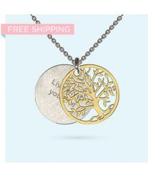 Gold Tree of Life Inside Story Necklace Wheel Of Life, Pendant Design, Gift Vouchers, Hamsa, Precious Metals, Initials, Pendants, Pendant Necklace, Sterling Silver