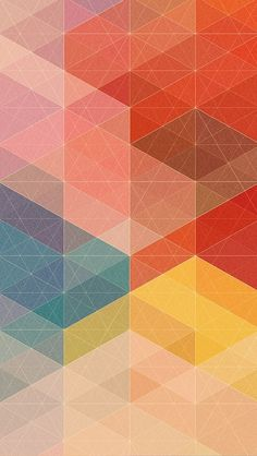 Another great Geometric background/wallpaper/Lock screen design for iOS 7