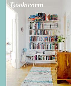 open shelving for books