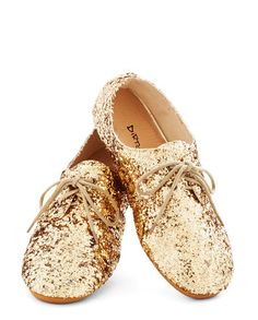 Gold Shoes for NYE!