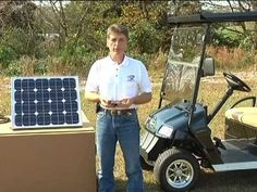 This training video walks you through the setup and usage of the DPI Solar Power System for use in the charging of golf carts and electric vehicles Solar Energy Panels, Best Solar Panels, Yamaha Golf Carts, Golf Cart Batteries, Golf Videos, Solar Roof, Solar Projects, Diy Projects, Solar Energy System